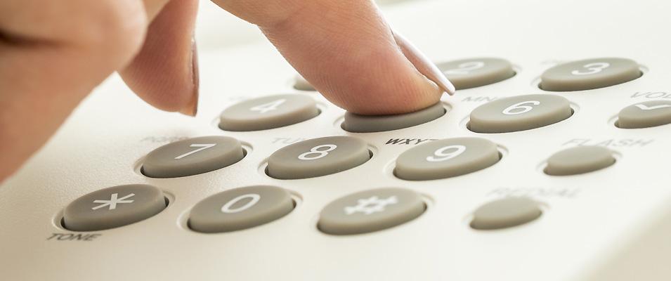 Telefonnummern